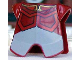 Part No: 2587pb17  Name: Minifigure, Armor Breastplate with Leg Protection, Avatar Prince Zuko Pattern
