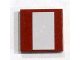 Part No: 3068bpb0615  Name: Tile 2 x 2 with White Stripe Wide Pattern (Sticker) - Set 7751