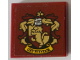 Part No: 3068bpb1228  Name: Tile 2 x 2 with Groove with Gryffindor Crest Pattern (Sticker) - Set 71043