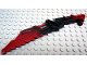 Part No: 47335pb01  Name: Bionicle Weapon Vahki Staff of Confusion, Marbled Black Pattern