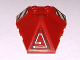 Part No: 47757pb06R  Name: Wedge 4 x 4 Pyramid Center with Stripes and Exo-Force Circuitry Right Pattern B (Stickers) - Set 7705