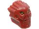 Part No: 53590pb01  Name: Minifigure, Head Modified Bionicle Inika Toa Jaller