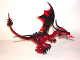 Part No: Dragon01  Name: Dragon (Fantasy Era) with Dark Red Head, Complete Assembly