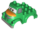 Part No: 13521pb01  Name: Duplo Car Body Truck with Disney Planes Chug Pattern