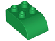 Part No: 2302  Name: Duplo, Brick 2 x 3 with Curved Top