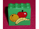 Part No: 30144pb027  Name: Brick 2 x 4 x 3 with Apple, Banana and Orange Pattern