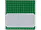 Part No: 30225px1  Name: Baseplate, Road 16 x 16 with Driveway Gray and White Border Pattern