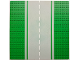 Part No: 30279pb02  Name: Baseplate, Road 32 x 32 8-Stud Straight with Road Pattern