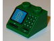 Part No: 3039pb084  Name: Slope 45 2 x 2 with Building on Blue Screen, Card Slot and Keypad Pattern
