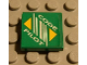 Part No: 3068bpb0031  Name: Tile 2 x 2 with Groove with Code Pilot Logo Pattern (Sticker) - Set 8479