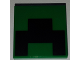 Part No: 3068bpb1168  Name: Tile 2 x 2 with Pixelated Black Pattern (Minecraft Creeper Mouth)