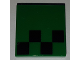 Part No: 3068bpb1169  Name: Tile 2 x 2 with Pixelated Black Pattern (Minecraft Creeper Foot)