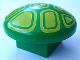 Part No: 31219pb02  Name: Duplo Mushroom, 2 x 2 Base with Yellow Geometric Pattern