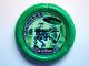 Part No: 32171pb038  Name: Throwbot Disk, Amazon / Jungle, 3 pips, Amazon throwing disk Pattern