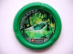 Part No: 32171pb039  Name: Throwbot Disk, Amazon / Jungle, 4 pips, flying box in swamp Pattern