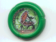 Part No: 32171pb041  Name: Throwbot Disk, Amazon / Jungle, 6 pips, fighting giant toothed plant Pattern