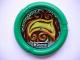 Part No: 32171pb042  Name: Throwbot Disk, Amazon / Jungle, 7 pips, glowing swirled wood Pattern