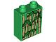 Part No: 4066pb269  Name: Duplo, Brick 1 x 2 x 2 with Bamboo Pattern