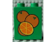 Part No: 4066pb293  Name: Duplo, Brick 1 x 2 x 2 with 3 Oranges Pattern