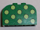 Part No: 4744pb11  Name: Brick, Modified 2 x 4 x 2 Double Curved Top with Dots Light Green Pattern