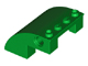 Part No: 61487  Name: Slope, Curved 4 x 4 x 2 with Holes