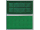 Part No: 700eD2  Name: Brick 10 x 20 with Bottom Tubes in single row around edge, with dual '+' Cross Supports