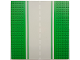 Part No: 80547pb02  Name: Baseplate, Road 32 x 32 7-Stud Straight with Road without White Sidelines Pattern