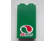 Part No: 87544pb015  Name: Panel 1 x 2 x 3 with Side Supports - Hollow Studs with Octan Logo Pattern (Sticker) - Set 60025