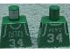 Part No: 973bpb146  Name: Torso NBA Boston Celtics #34 Pattern