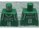 Part No: 973bpb154  Name: Torso NBA Boston Celtics #8 (Green Jersey) Pattern