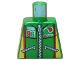 Part No: 973pb0196  Name: Torso Octan Logo Zippered Jacket with Team 96 Text Pattern