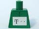Part No: 973pb0502  Name: Torso German Telekom Green Pattern (Stickers)