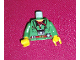 Part No: 973px178c01  Name: Torso Adventurers Orient Jacket, Red Bandana, and Camera Pattern / Green Arms / Yellow Hands