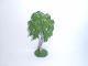 Part No: FTBirchH  Name: Plant, Tree Flat Birch painted with hollow base