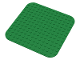 Part No: bp02a  Name: Baseplate 14 x 14 Rounded Corners