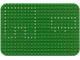 Part No: x243px2  Name: Baseplate 16 x 24 Rounded Corners and Set 362/550 Dots Pattern