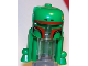 Part No: x50px3  Name: Minifigure, Headgear Helmet SW Rocket Pack with Boba Fett Colors Pattern , Dark Red Highlights