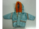 Part No: scl056  Name: Scala, Clothes Female Parka with Hood with Orange Trim
