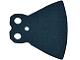 Part No: 13233  Name: Minifigure, Cape Cloth, Extended with Round Bottom and 2 Top Holes