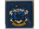 Part No: 3068bpb1230  Name: Tile 2 x 2 with Groove with Ravenclaw Crest Pattern (Sticker) - Set 71043