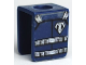 Part No: 3840pb16  Name: Minifigure, Vest with Straps and Coast Guard Logo Pattern (Sticker) - Set 7047