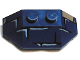 Part No: 47759pb07  Name: Wedge 2 x 4 Triple with Brick Pattern (Scarab Thorax)