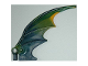 Part No: 55706pb01  Name: Dragon Wing 8 x 10, Green and Yellow Trailing Edge