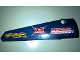 Part No: 64393pb031  Name: Technic, Panel Fairing # 6 Long Smooth, Side B with 'CRAWLR GEARS', 'IG NITION' and 'PRESS OIL PUMPS' Pattern (Sticker) - Set 41999