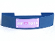 Part No: 93273pb077  Name: Slope, Curved 4 x 1 Double No Studs with 'MF 1013' License Plate Pattern (Sticker) - Set 41013