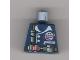 Part No: 973pb0071  Name: Torso Alpha Team Logo, Utility Belt and Pouches Pattern