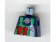 Part No: 973pb0219  Name: Torso Alpha Team Logo Green Vest Dynamite Pattern