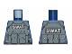 Part No: 973pb1345  Name: Torso Batman Body Armor with 'SWAT' Pattern