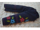 Part No: scl044  Name: Scala, Clothes Female Pants with Purple and Light Blue Flowers Pattern