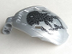 Part No: 41671pb03  Name: Bionicle Bohrok Windscreen 4 x 5 x 7 with Black Scales and Nuhvok-Kal Logo